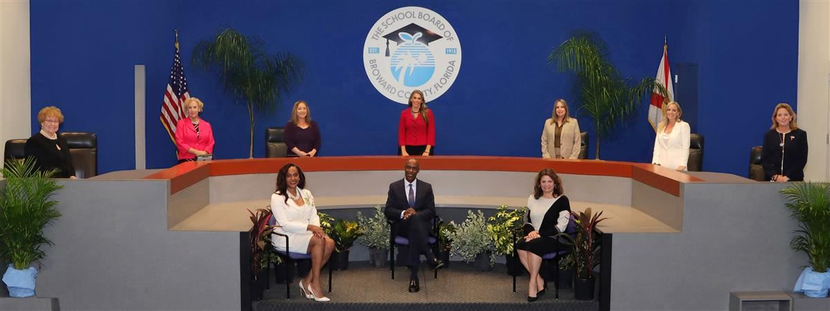 The School Board of Broward County, FL group photo