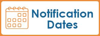 Notification Dates