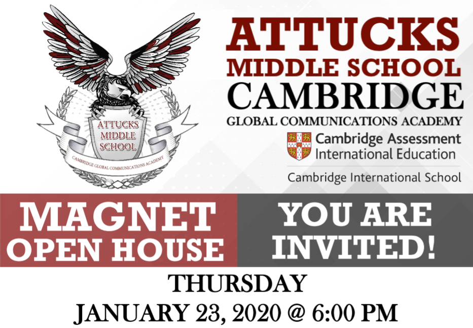 RSVP FOR OUR MAGNET OPEN HOUSE - 01/23/2020 at 6:00 PM