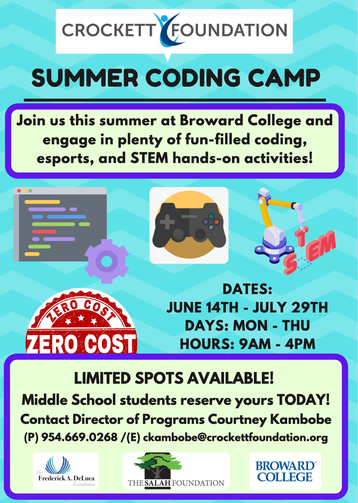 Crockett Summer camps