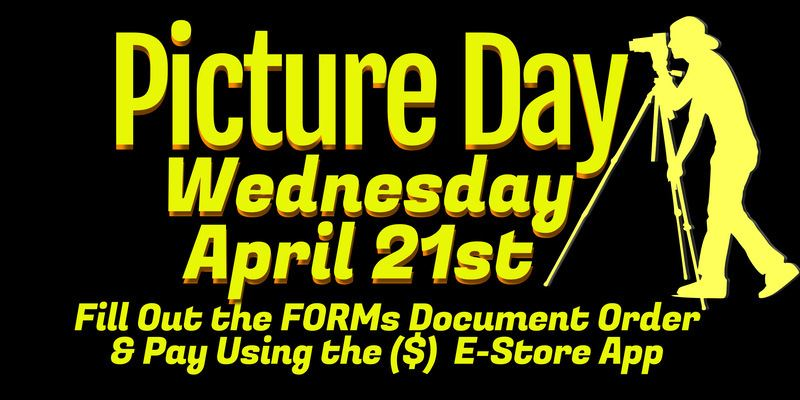 Picture Day Order form and payment 4/21