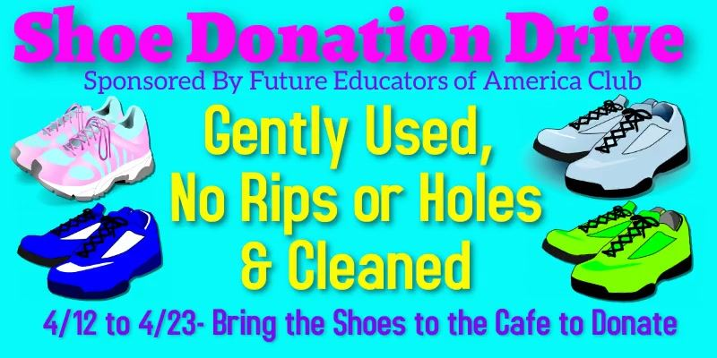 Sneaker donations