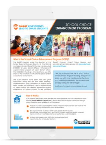 School Choice Enhancement Program