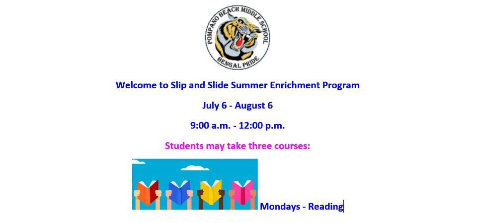 Slip and Slide Summer Enrichment Program