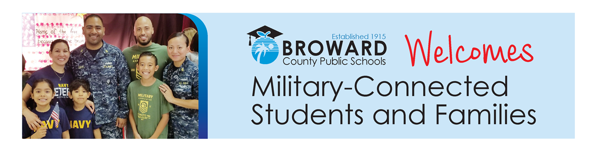 Broward Schools Welcomes Military-Connected Students and Families
