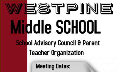 To View SAC and PTO Meeting Dates click on this Link 'SAC and PTO'