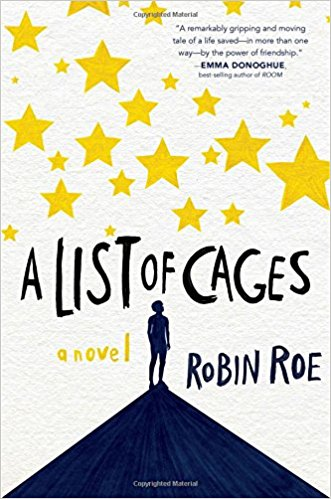 "Book cover image for ""A List of Cages"""