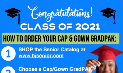How to Order Your Cap and Gown Graduation Pack Class of 2021