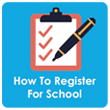How to Register Your Child for school