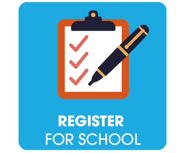 Register for school icon