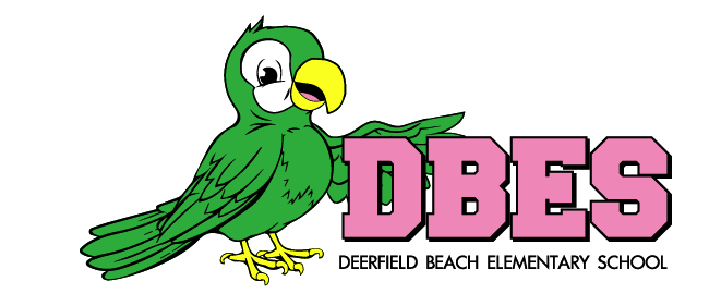 DBES logo with parrot on left side
