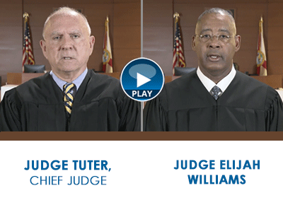 Judge Jack Tuter and Judge Elijah Williams explain the consequences of making threats against schools, students and employees.